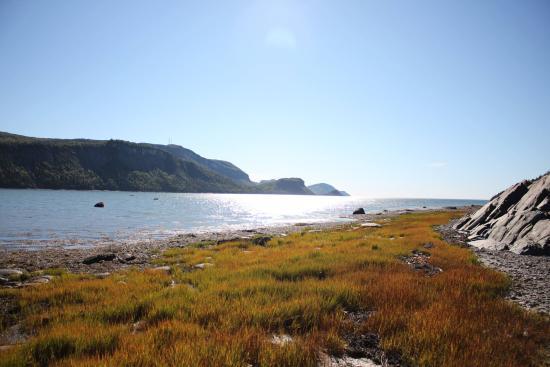 Le Bic, Канада: Vue sur la baie du Ha! Ha!