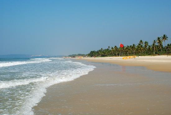 Majorda, India: Пляж