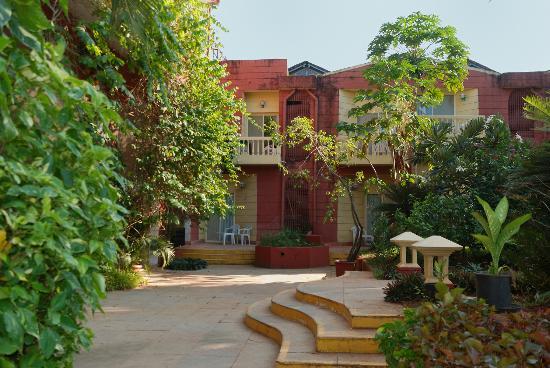 Majorda, India: Территория отеля