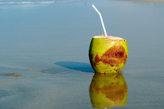 Majorda, India: На пляже