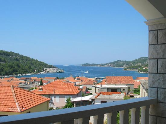 Vela Luka, Hırvatistan: All apartments have balcony with view