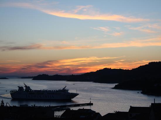 Vela Luka, Hırvatistan: Watch beautiful sunsets