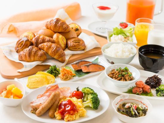 Miyakonojo, ญี่ปุ่น: ベッセルホテル朝食
