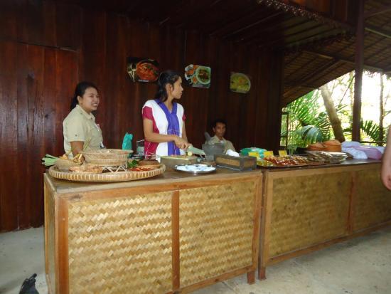 Chalong, Tajlandia: Cooking demonstration