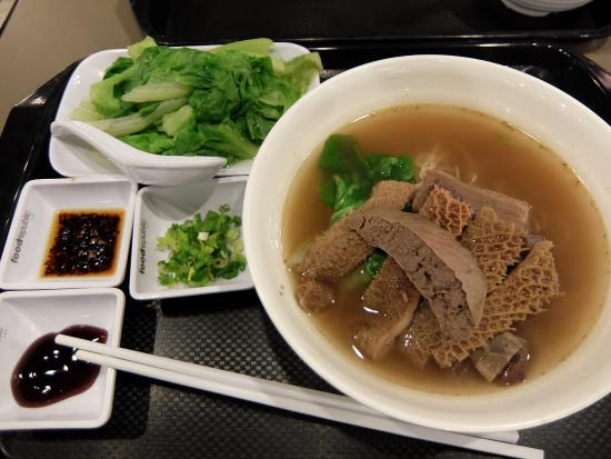 Food Republic: beef varieties noodle, lots of other mixture to choose from