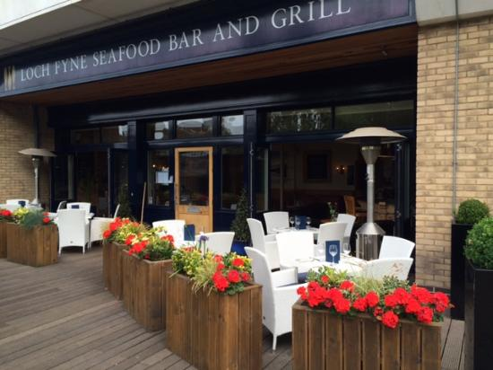 Review Of Loch Fyne Seafood Grill Chelmsford England Tripadvisor