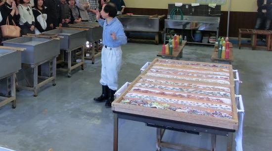 Echizen, Giappone: 紙漉き体験