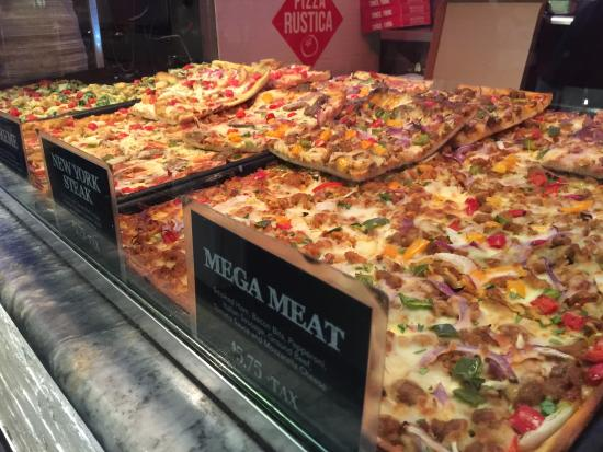 Pizza Rustica The Options Are Amazing They Will Heat It And Serve You