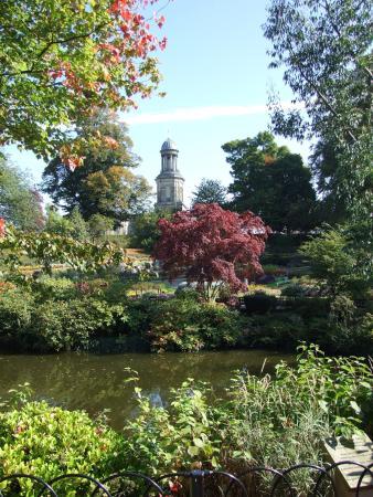 Shrewsbury, UK: beautiful view of St. Chads