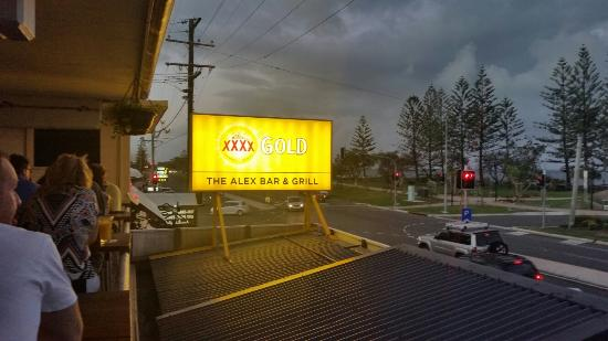 Alexandra Headland, Australië: The Alex Bar and Grill