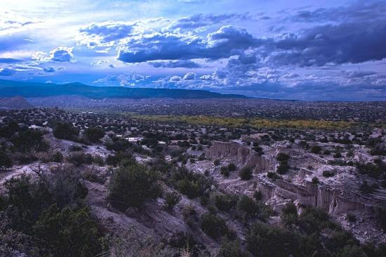 Ojo Caliente, Nowy Meksyk: Spectacular views of Georgia O'Keeffe country