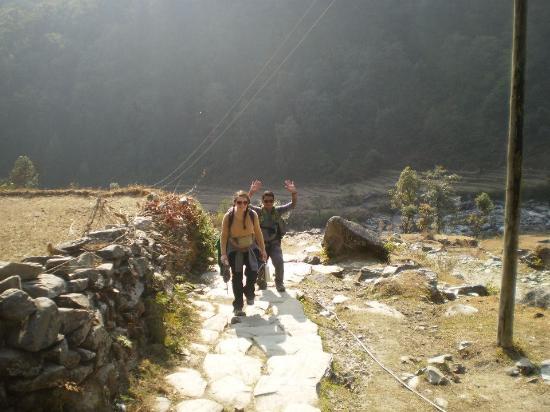 Kathmandu Valley, Nepal: Fun and games with Santosh!