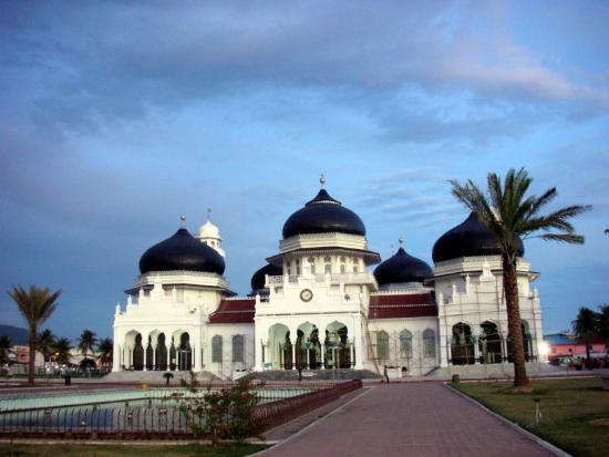 Inilah Masjid Terindah Di Asia Tenggara Bild Von Baiturrahman