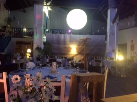 Sant Salvador, España: Interior restaurante