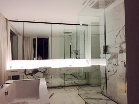 Turnhout, Belgia: Badkamer van de Suite
