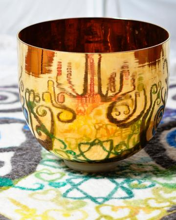 Ojo Caliente, Nouveau-Mexique : Origin is an exceptional place to experience the alchemy of Crystal Tones Singing Bowls