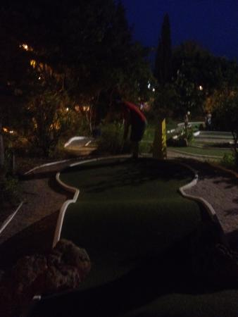 Vale do Lobo, Portugal: The mini golf course.