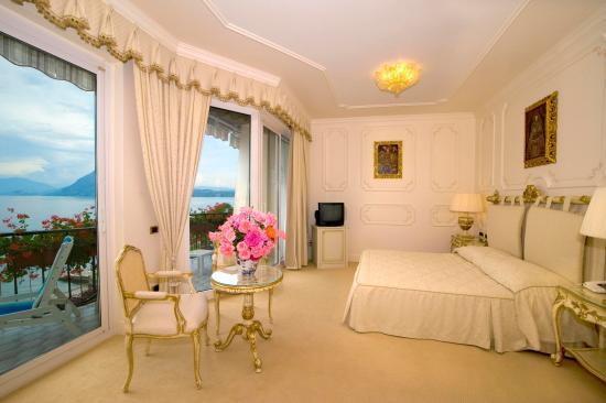 Astoria Hotel : Junior Suite vista lago