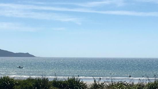 Waikanae, Nueva Zelanda: view from our table... not bad eh!!