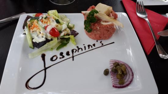 "Barberton, Afrika Selatan: This was our ""steak tartare""."