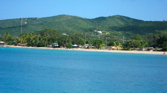 View of Fort Frederik Beach from Frederiksted Pier