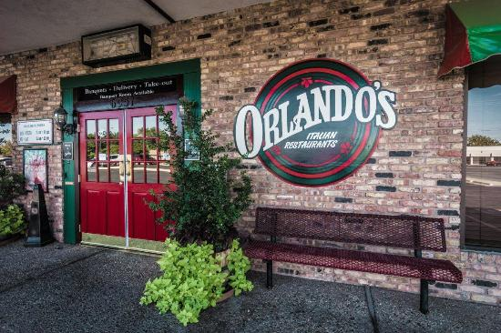Our Front Door Picture Of Orlandos Italian Restaurant Lubbock