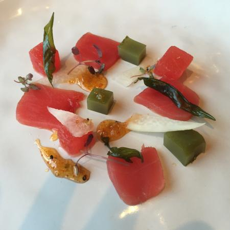 Albury, Australien: Tuna and watermelon
