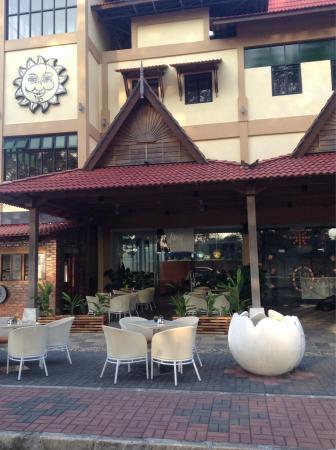 Pantai Tengah, มาเลเซีย: Jazz Cafe & Restaurant