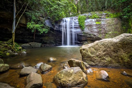 Buderim, Australia: A photo after rains.