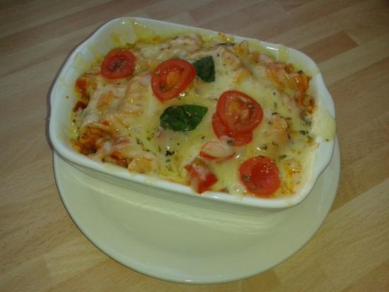 Cannock, UK: Delicious Pasta Forno freshly prepared