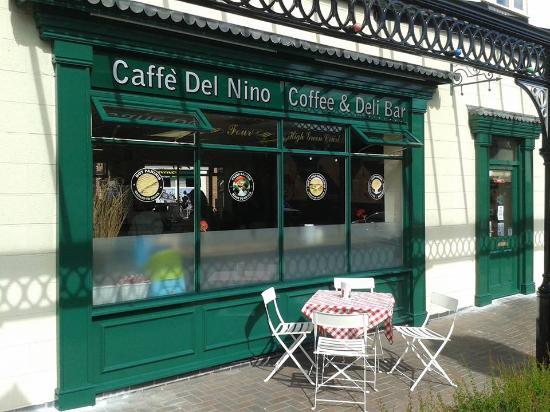Cannock, UK: Back of Nino's coffee bar