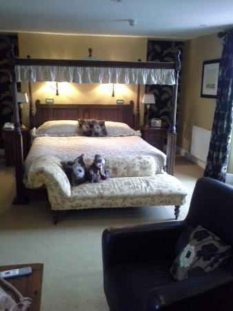 Ashwater, UK: The room we stayed in