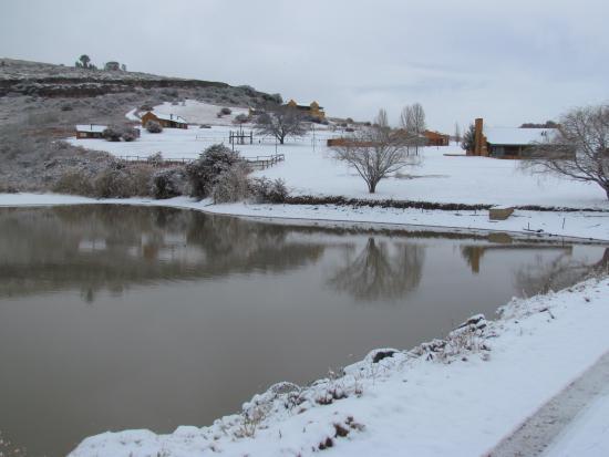Fouriesburg, Afrika Selatan: Snow view