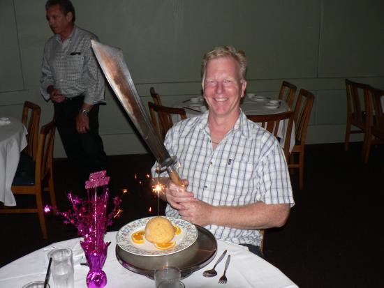 Wantirna, Australia: The Birthday Ice Cream Ball and Machete