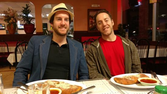 Grovetown, GA: Stromboli time at Armando's New York Pizza