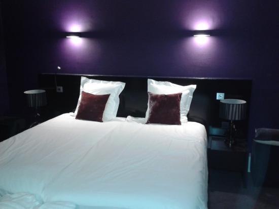 Retie, België: de slaapkamer