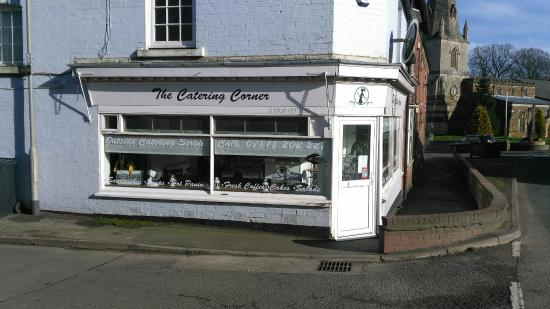 Lutterworth, UK: The Catering Corner
