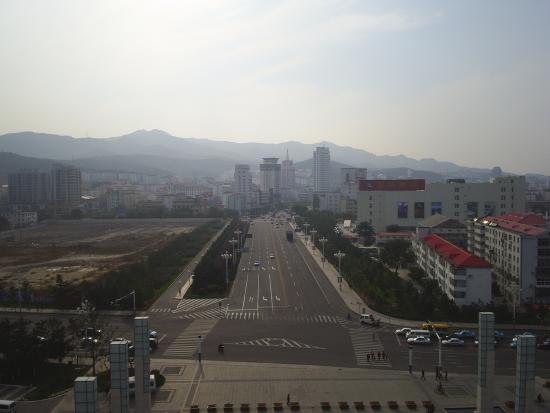 Weihai, China: view from the gates of happiness