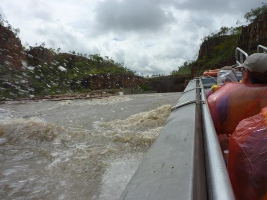 Katherine, Australia: Up through the rapids