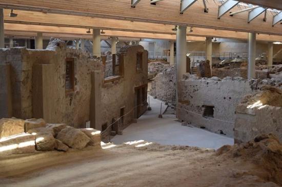 Akrotiri, Griechenland: Admirals house