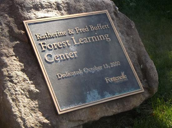 Bellevue, NE: Katherine & Fred Buffet Forest Learning Center. Yes, there will be children. :-)