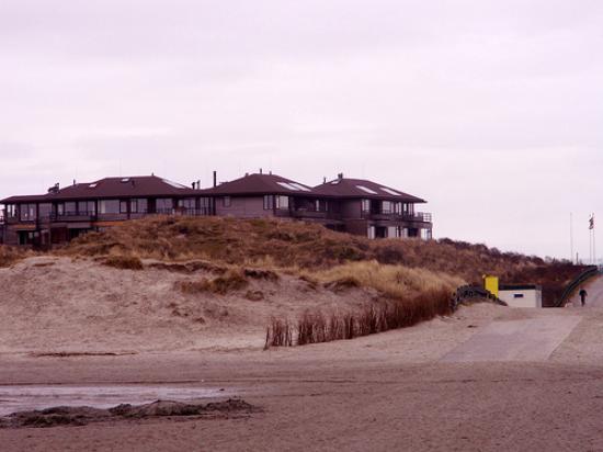 Strandappartementen Noderstraun: Strand opgang
