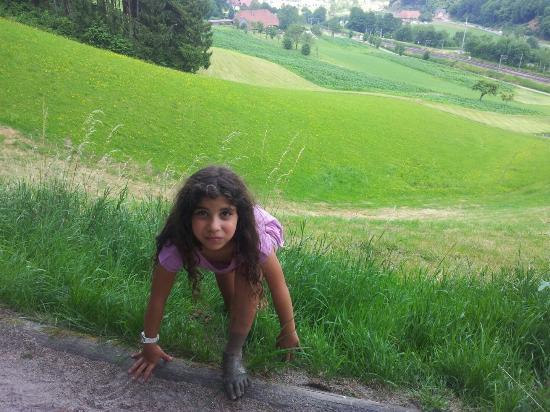 Gutach im Schwarzwald, Almanya: נגיעה קטנה מהנוף (ומהרגליים המבוצבצות)
