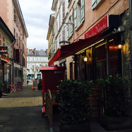 Voiron, Francia: excellent restaurant lyonnais