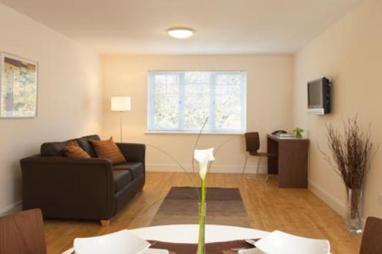 Farnborough, UK : Comfortable Living Room