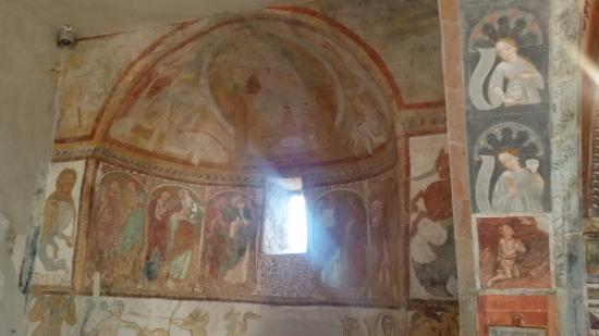 Tramin, Italia: Affreschi chiesetta S.Jakob