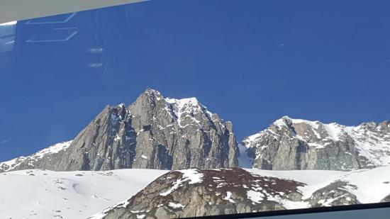 Glacier Express: Aussicht