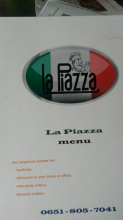 La Piazza: Greek salad? Really?