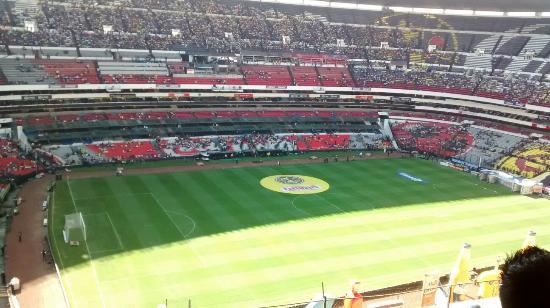 Picture of estadio azteca mexico city for Puerta 1 estadio azteca