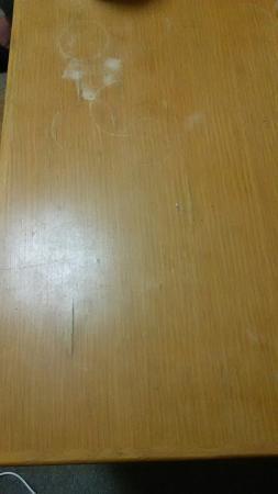 Otsuchi-cho, Japan: 客室が汚ないです!これでお金がもらえますか? 接客商売してるなら当たり前の事は こなしましょうよ!